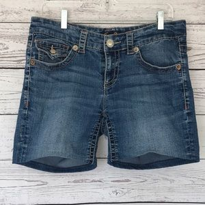 Seven7 Denim Jean Shorts Size 10